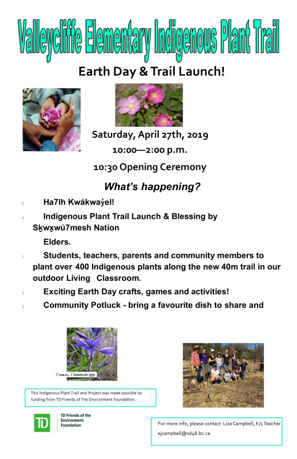 Indigenous Plant Trail Apr 27